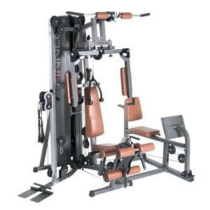 Multi Gym With Leg Press In Brown