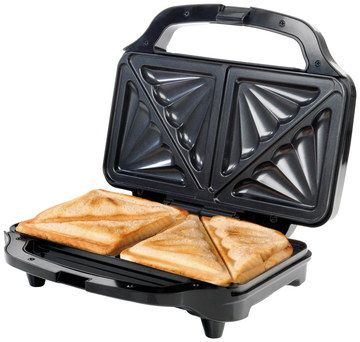 Thick Fill Deep Sandwich Maker With 2 Toasties Within