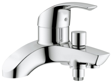 GROHE Eurosmart Deck Mounted Bath Shower Mixer Close Up