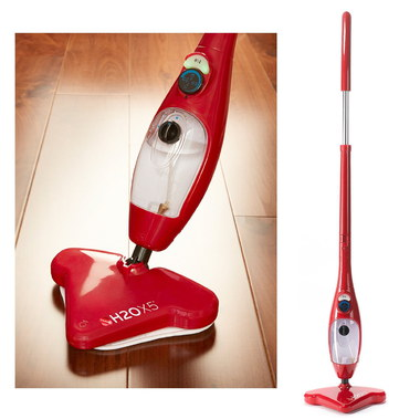 Steam Mop In Bright Red Finish
