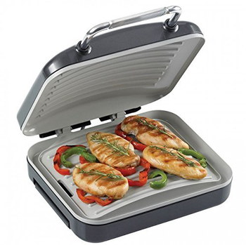 Ceramic 1500W Healthy Grill Panini Maker Cooking Meat
