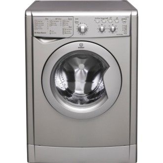 Indesit Free Standing Washing Machine In Silver Colour