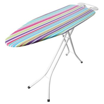Iron Worx Large Sized Ironing Board With Striped Surface
