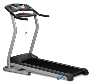 Folding Running Machine With Black Hand Grips