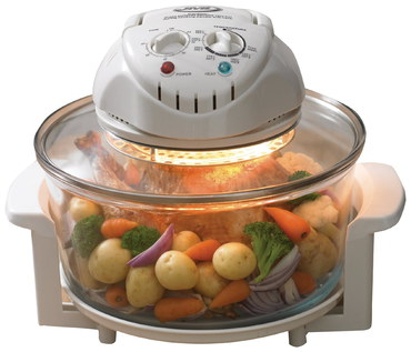 Halogen Oven Original With White Cover