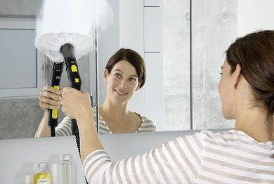 Hand Held Multi Purpose Steam Cleaner Cleaning Mirror