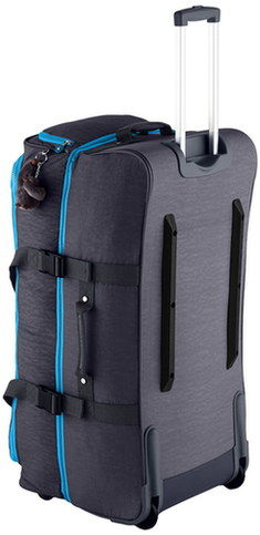 Duffle Bag With Wheels With Zip Flap Style
