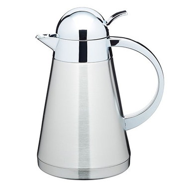 Steel Filter Coffee Cafetiere In Highly Polished Finish