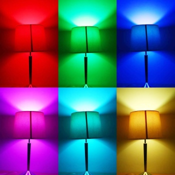 LED Bulb Colour Altering Via Remote In 6 Diverse Colours