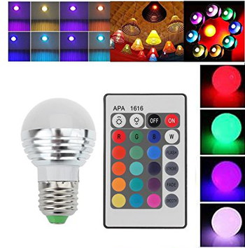 LightAhead Colour Altering Dimmer Light Bulb With Grey Remote