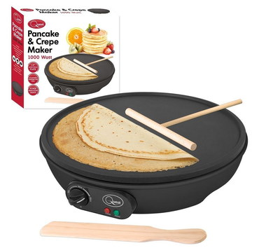 MTS 1000 Watts Electric Crepe Machine With Wood T-Stick