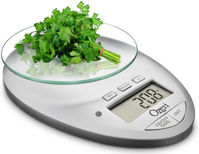 Kitchen Scale With Glass Bowl