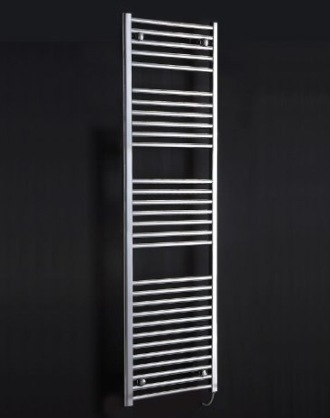 Electric Towel Warmer In Polished Steel