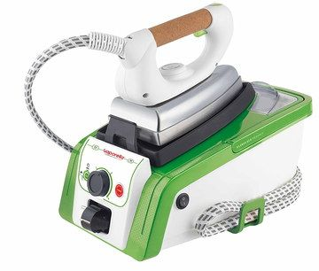 Easy Steam Generator In White With Cork Handle