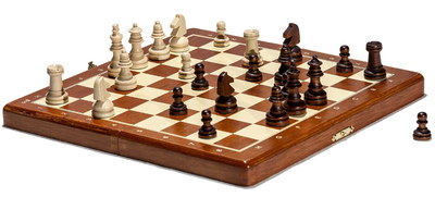 Prime Compact Magnetic Chess Board Game With All Pieces
