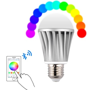 Wireless Bluetooth LED Light Bulb With Mobile Phone