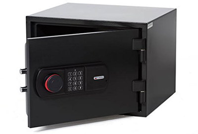 Fireproof Safe For Home In Black Exterior