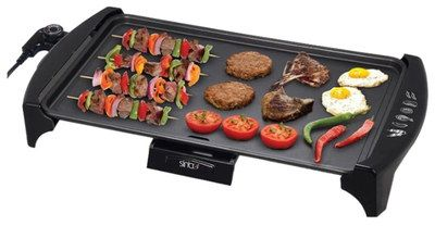 Great 4 Legs Electric Indoor Tabletop Grill With Black Surface
