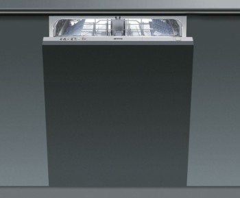 Smeg DISD12 Integrated Dishwasher In Light Grey Finish