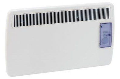 Compact Electric Conservatory Radiator With Blue Controls