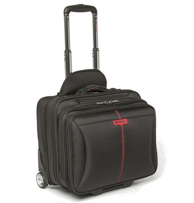 Verbatim 15.6 Inch Rolling Laptop Bag With Two Wheels