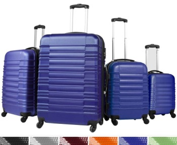 Vojagor Lightweight Suitcases With Four Wheels In Bright Purple