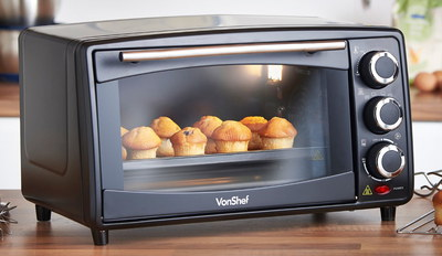 Electric Convection Oven With Pull Down Door