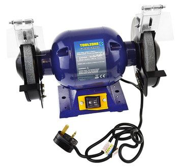 Tool Shop Grinder Polisher With Blue Exterior