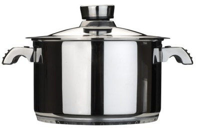 Big 6.8L Orion Large Stock Pot With Curved Grips