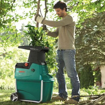 Garden Waste Shredder With Thick Branches