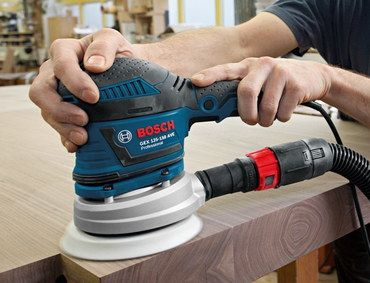 GEX Random Orbit Sander Machine In Dark Blue