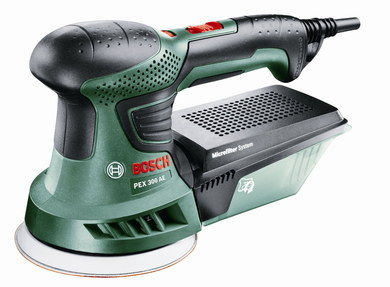 Light PEX Random Orbital Sander In Green