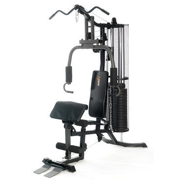 Compact Multi Gym Equipment With Black Bench
