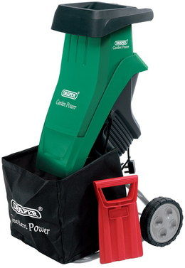 Powerful Electric Garden Shredder In Green