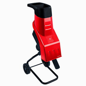 Garden Shredding Machine Bright Red Exterior