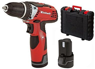 Professional Cordess Drill With Red Exterior