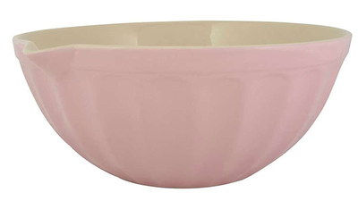 Ceramic Extra Large Mixing Bowl With Pouring Lip