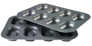 Carbon Steel Mini Loaf Pan With Smooth Surface