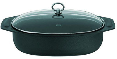 6.6 Litres Rustic Roasting Pan With Lip Handles