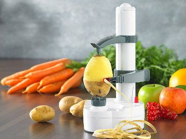 Revolving Type Battery Swivel Potato Peeler With Carrots