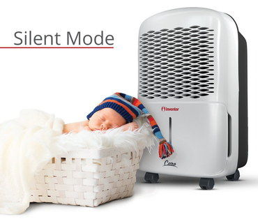 Quiet Portable Dehumidifier With Baby In Basket