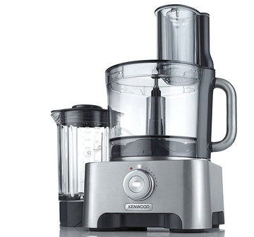 Weighing Multifunctional Food Processor In Brushed Effect