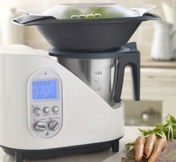 Food Processor And Blender Combo In White Finish