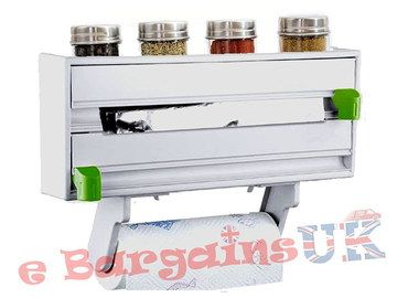 Tin Foil Cling Film Dispenser With Top Ledge
