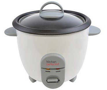 Non Stick Compact Rice Cooker With Clear Cover