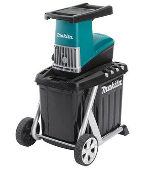 Electric Garden Shredder Chipper With 2 Wheels