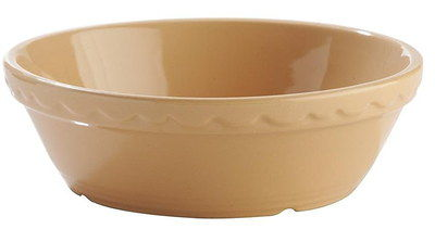 Rural Mixing Bowl Old English Style With Round Base