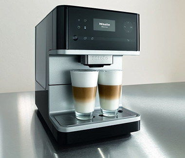 De-Scaling Auto Catering Coffee Machine With 2 Glasses