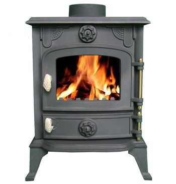 Cast Iron Small Wood Burning Stove With One Door