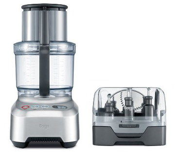 Large Capacity Blender Food Processor With Black Grip